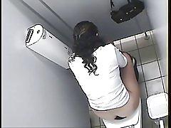 Arab lány WC kém